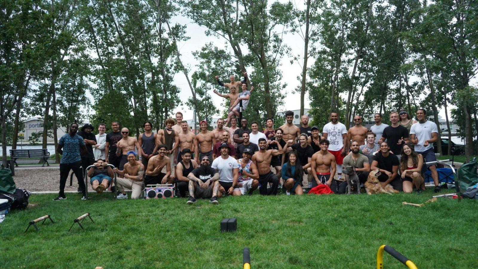 Toronto Calisthenics Meetup Pictures – Jul. 31st, 2021